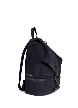 Front View - Click To Enlarge - Rebecca Minkoff - 'Julian' quilted sport backpack