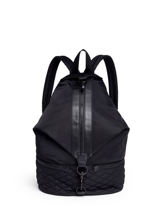 Main View - Click To Enlarge - Rebecca Minkoff - 'Julian' quilted sport backpack