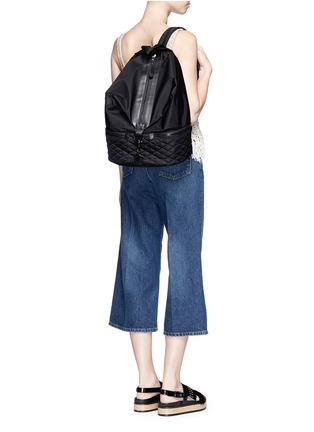 Figure View - Click To Enlarge - Rebecca Minkoff - 'Julian' quilted sport backpack