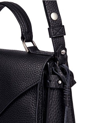 Detail View - Click To Enlarge - Rebecca Minkoff - 'Darren' small pebbled leather satchel