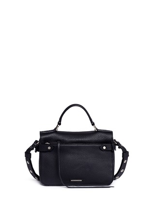 Back View - Click To Enlarge - Rebecca Minkoff - 'Darren' small pebbled leather satchel