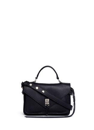Main View - Click To Enlarge - Rebecca Minkoff - 'Darren' small pebbled leather satchel