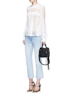 Rebecca Minkoff'Darren' small pebbled leather satchel