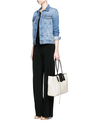 Rebecca Minkoff - 'Penelope' bicolour saffiano leather tote