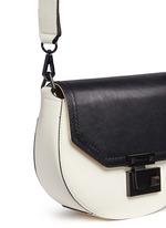'Paris' medium colourblock saddle bag