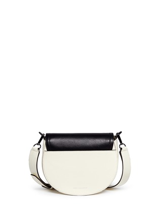 Back View - Click To Enlarge - Rebecca Minkoff - 'Paris' medium colourblock saddle bag