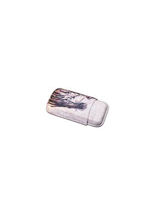 - Siglo Accessory - Tattoo leather cigar case
