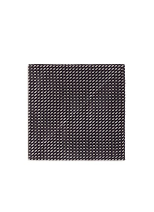 Main View - Click To Enlarge - Armani Collezioni - Arrowhead jacquard pocket square
