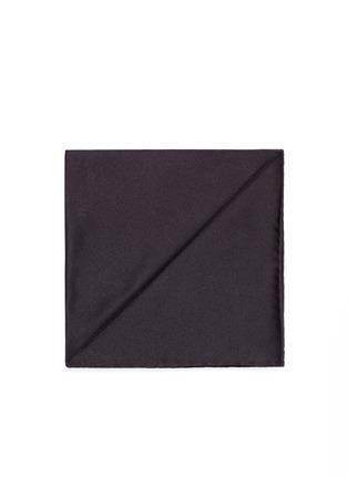 Main View - Click To Enlarge - Armani Collezioni - Silk satin pocket square