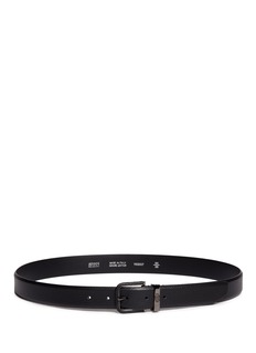 Armani Collezioni Pebbled leather belt