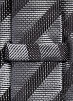Stripe repp tie