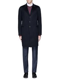 Armani CollezioniCashmere flannel coat