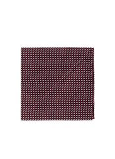 Armani CollezioniArrowhead jacquard pocket square
