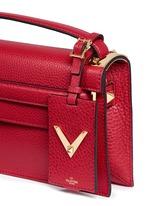 'My Rockstud' pebbled leather clutch bag