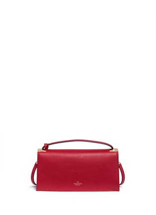 Back View - Click To Enlarge - Valentino - 'My Rockstud' pebbled leather clutch bag