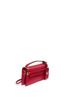 Valentino 'My Rockstud' pebbled leather clutch bag