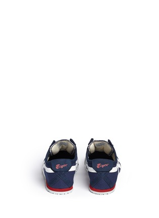 Back View - Click To Enlarge - Onitsuka Tiger - 'Mexico 66' unisex canvas slip-on sneakers