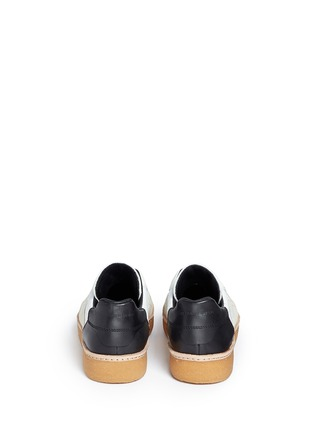 Back View - Click To Enlarge - Alexander Wang  - Eden' colourblock leather combo sneakers
