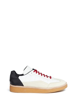 Main View - Click To Enlarge - Alexander Wang  - Eden' colourblock leather combo sneakers
