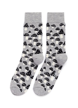 Main View - Click To Enlarge - Happy Socks - 'Shrooms' socks