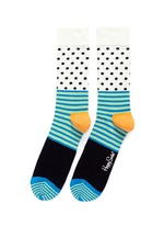 Stripe dot socks