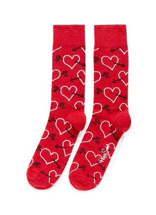 Main View - Click To Enlarge - Happy Socks - Arrows and hearts socks