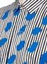 Detail View - Click To Enlarge - Paul Smith - Paint print stripe cotton-modal-cashmere shirt