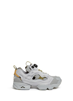Main View - Click To Enlarge - Reebok - 'InstaPump Fury OG SYN' slip-on sneakers