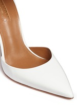'Hello Lover' metallic anklet leather d'Orsay pumps