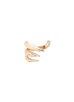 Main View - Click To Enlarge - Michelle Campbell - Galaxy Thorn' diamond 14k gold open ring
