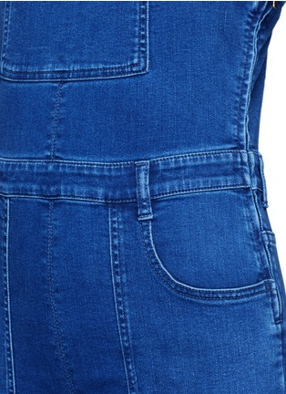 Detail View - Click To Enlarge - Stella McCartney - Medium wash denim dungarees