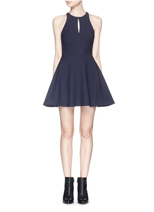 Main View - Click To Enlarge - Elizabeth and James - 'Scout' racerback crepe mini dress