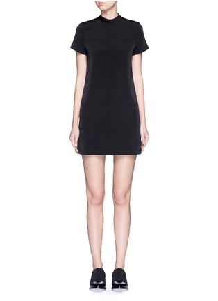 Main View - Click To Enlarge - T By Alexander Wang - Band collar stretch faille dress