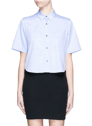 Main View - Click To Enlarge - T By Alexander Wang - Cotton poplin shirt