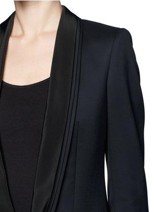 Detail View - Click To Enlarge - Stella McCartney - Triple shawl lapel tuxedo jacket