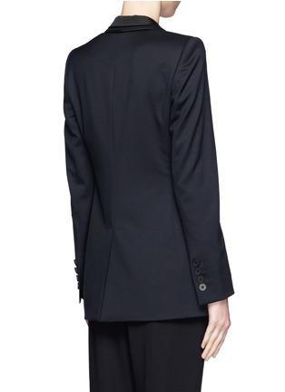 Back View - Click To Enlarge - Stella McCartney - Triple shawl lapel tuxedo jacket