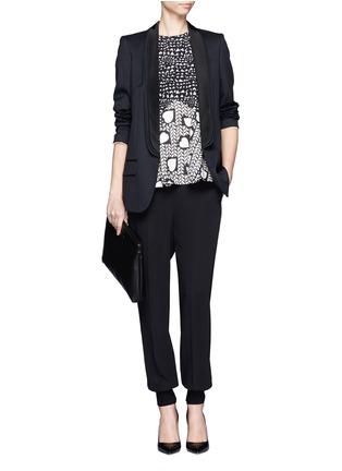Figure View - Click To Enlarge - Stella McCartney - Triple shawl lapel tuxedo jacket