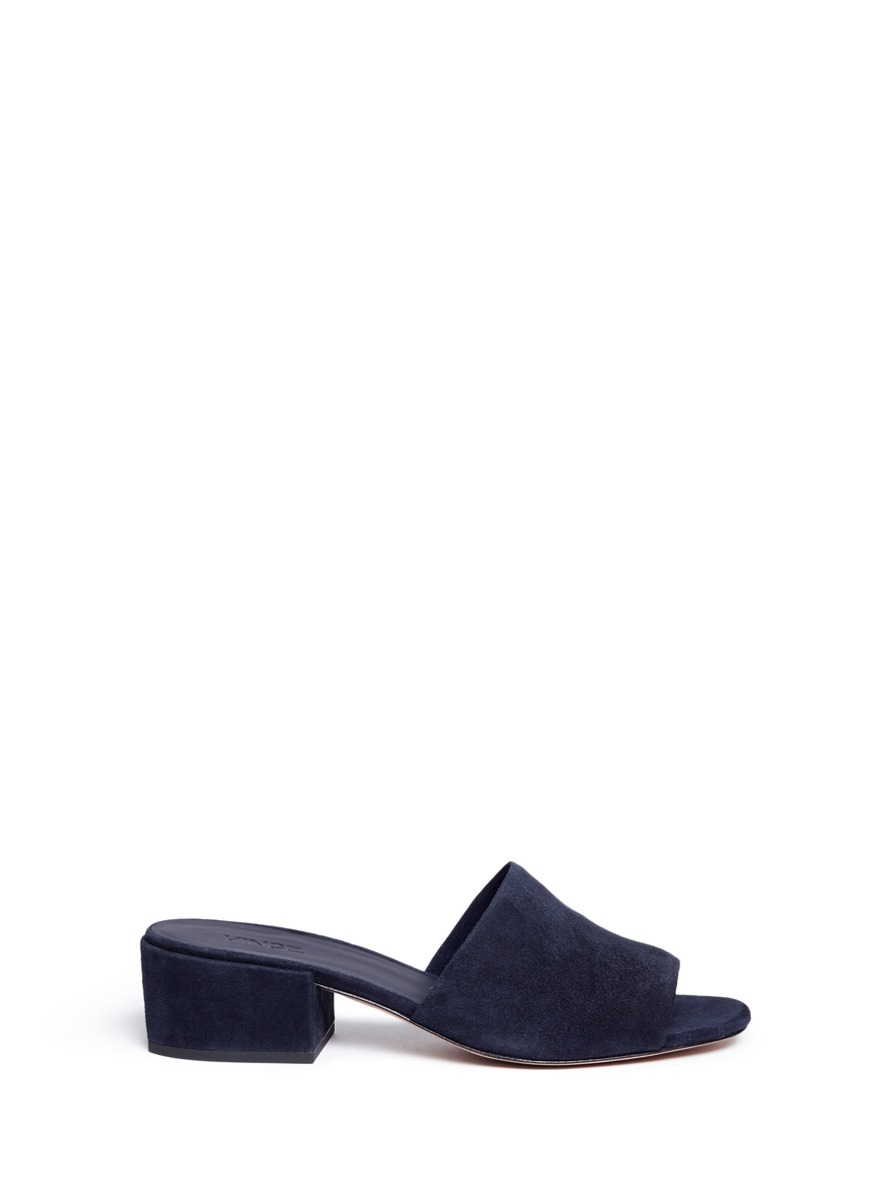 Rachelle suede mules by Vince