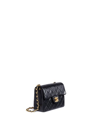 Figure View - Click To Enlarge - Vintage Chanel - Mini quilted lambskin leather flap bag