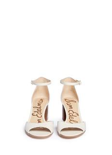 Sam Edelman'Susie' block heel suede sandals