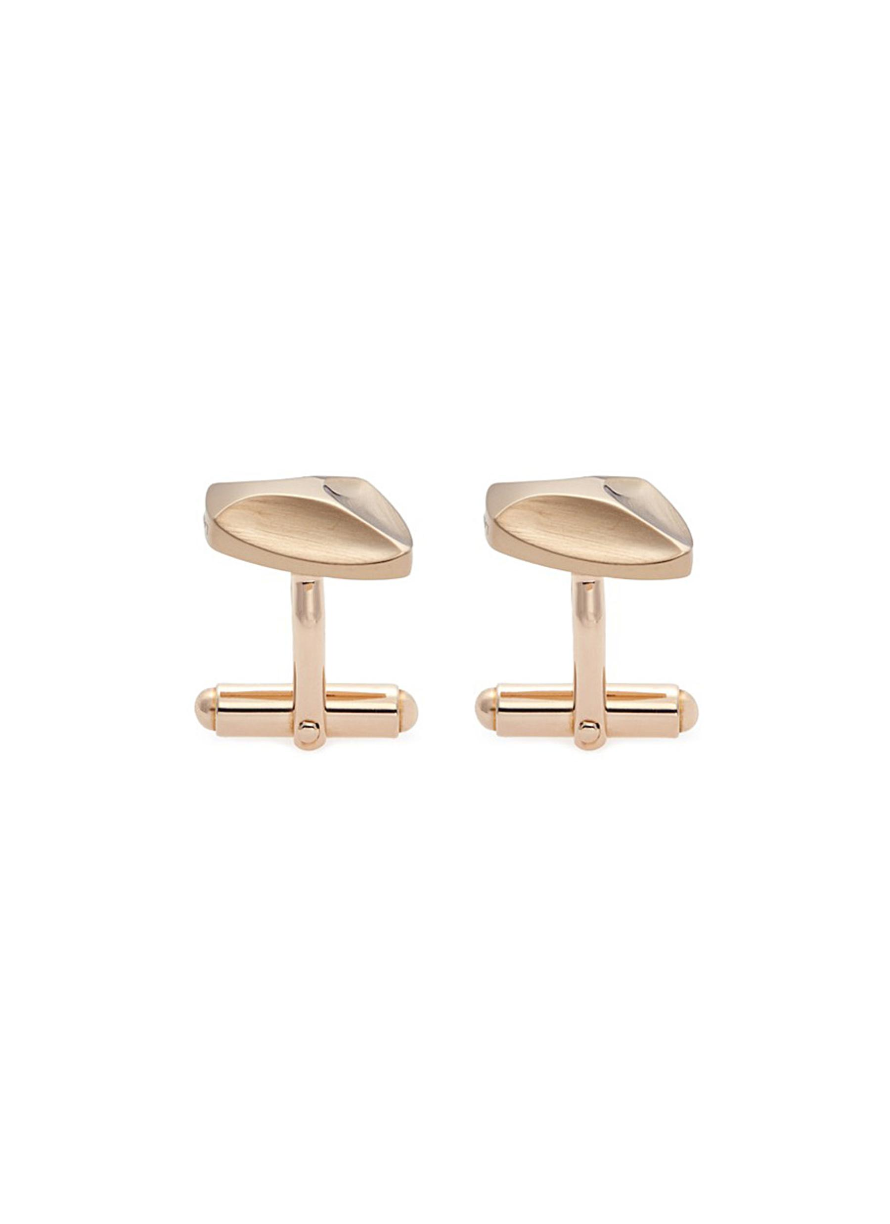 lanvin male abstract contour cufflinks