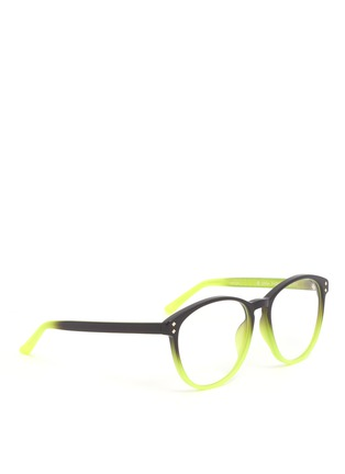 Matthew Williamson - Two-tone rounded plastic optical glasses