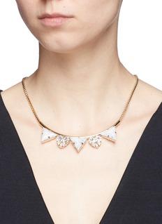 Anton HeunisSwarovski crystal vintage stone necklace