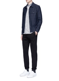 rag & bone 'Yokohama' gingham check flannel shirt