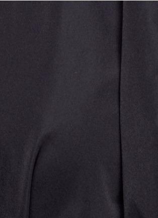 Detail View - Click To Enlarge - Ellery - 'Skyward' pleated taffeta peplum dress