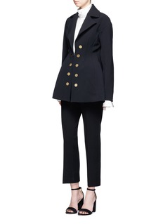 Ellery 'Marilyn' double-breasted flared twill coat