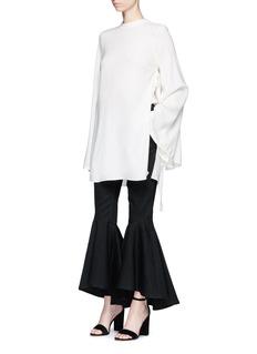 Ellery'Alejandro' cotton twill flared pants