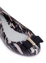 x Jason Wu 'Space Love II' marble print bow flats