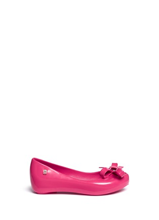Main View - Click To Enlarge - Melissa - 'Ultragirl Bow II' PVC kids flats