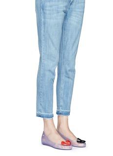 Melissax Disney 'Ultragirl II' appliqué PVC flats